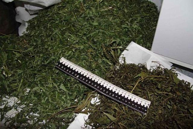 Изъятие марихуаны