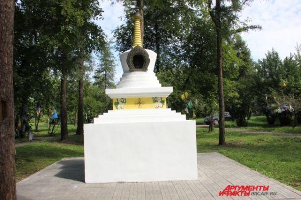 Буддийская ступа – монолитное сооружение, имеющее сакральное значение. Возводится в честь какого-то события в буддизме.