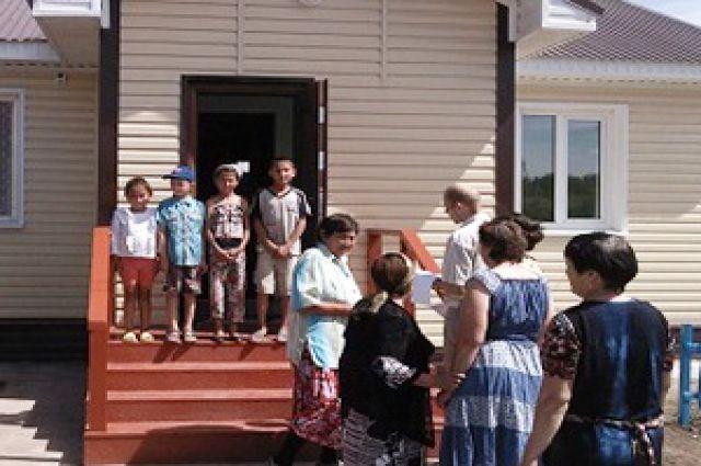 Новый фельдшерско-акушерский пункт в Черлакском районе.
