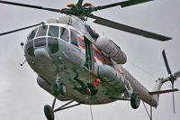 Спасательный Ми-8.
