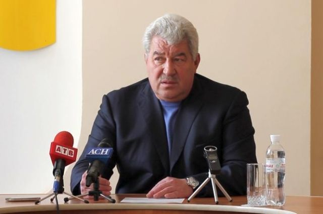 Алексей Рева, мэр Артемовска