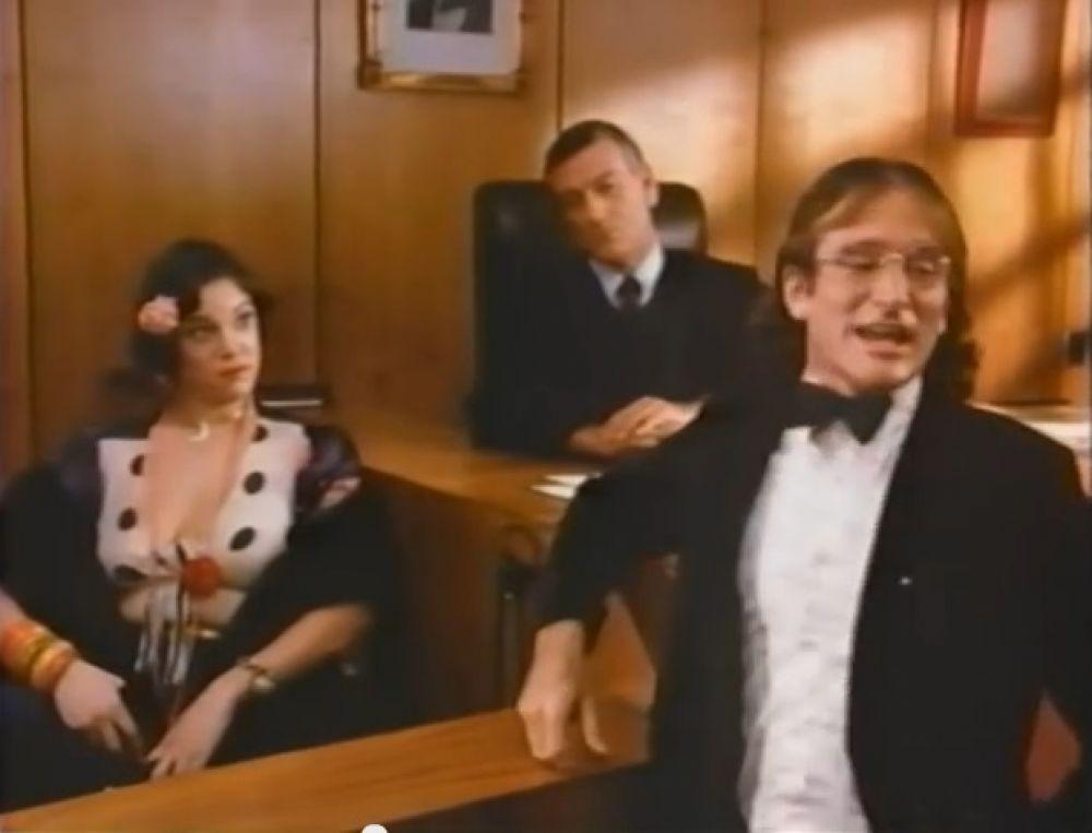 """Первая роль Робина Уильямса в фильме """"Я могу сделать это, пока я не нуждаюсь в очках?"""" 1977 года"""