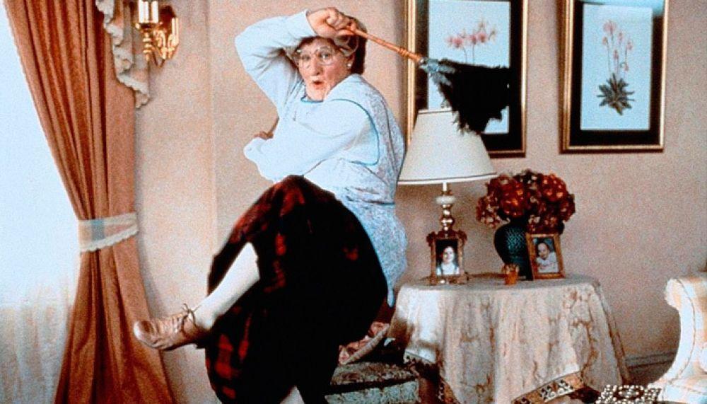 Одной из самых известных ролей Уильямса стала работа в фильме «Миссис Даутфайр» 1993 года, где актер раскрыл весь свой талант мастера перевоплощения