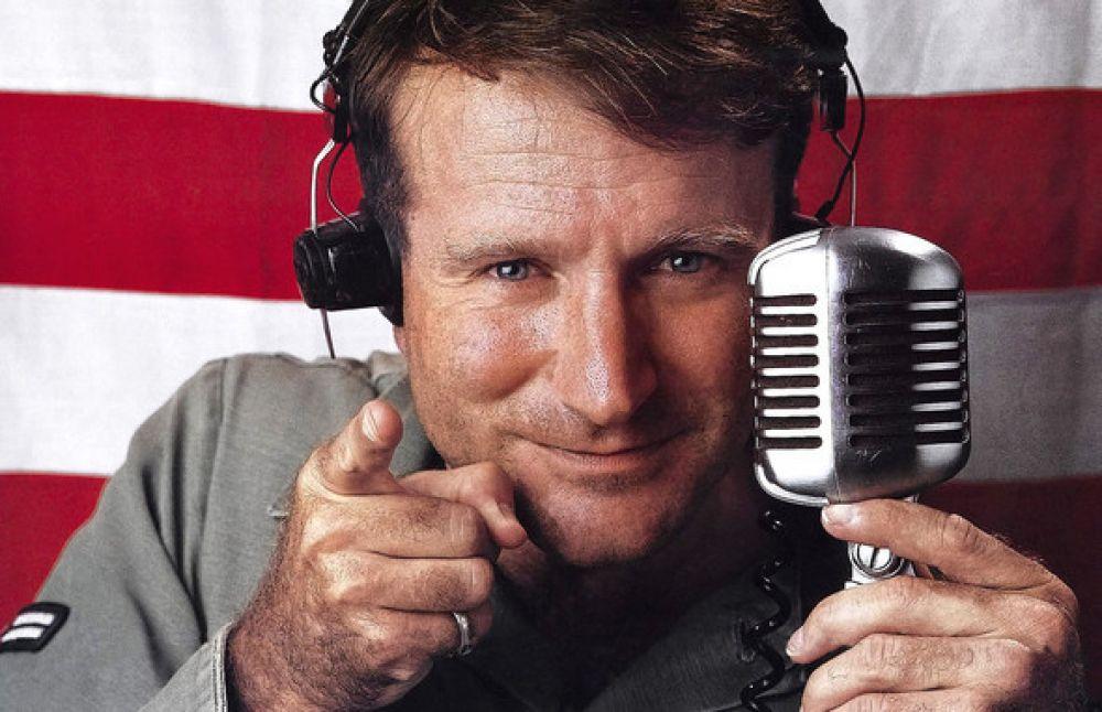 """Фильм """"Доброе утро, Вьетнам"""" 1987 года принес Уильямсу множество номинации на престижные кинематографические награды и всемирную известность"""
