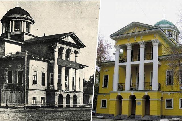 Воссозданный Дом Малахова вполне вписался в исторический облик города.