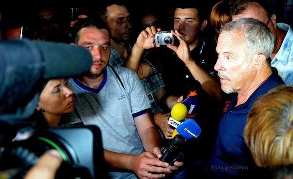 Андрей Макаревич на Донбассе