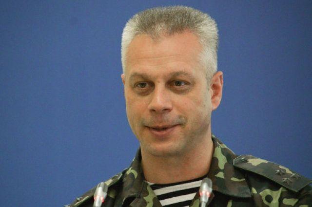 Андрей Лысенко, представитель СНБО