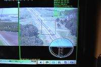 ОКО-1 передаёт изображение со своих камер на экран.