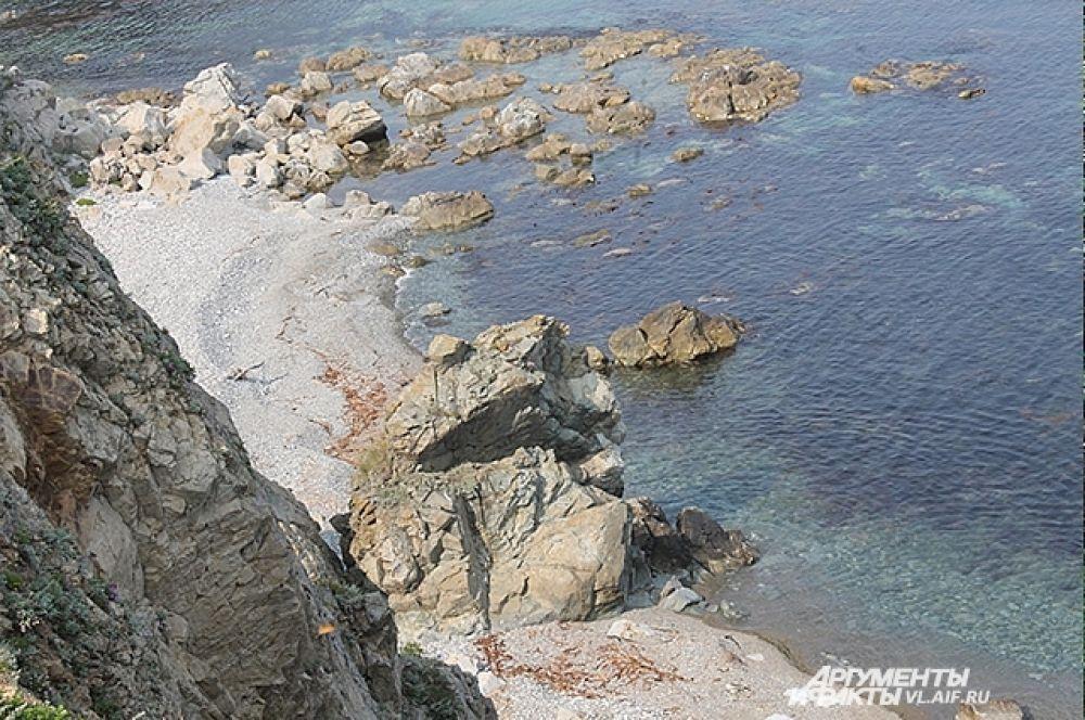 Сихотэ-Алинь берёт начало от побережье Японского моря.