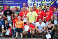 Все победители и призеры абсолютного зачета получили ценные призы