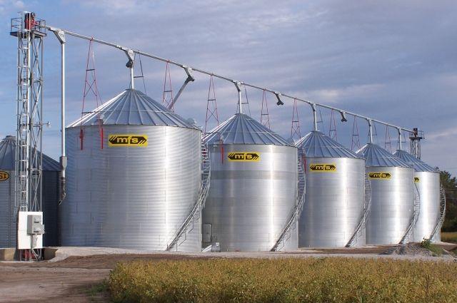 Зерновой бункер