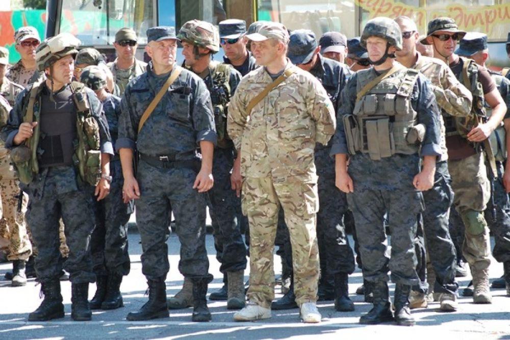 В зону АТО отправился батальон оперативного назначения Нацгвардии