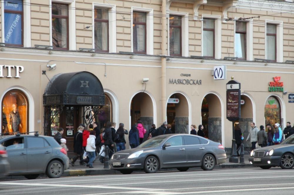 Станция «Маяковская». Санкт-Петербург