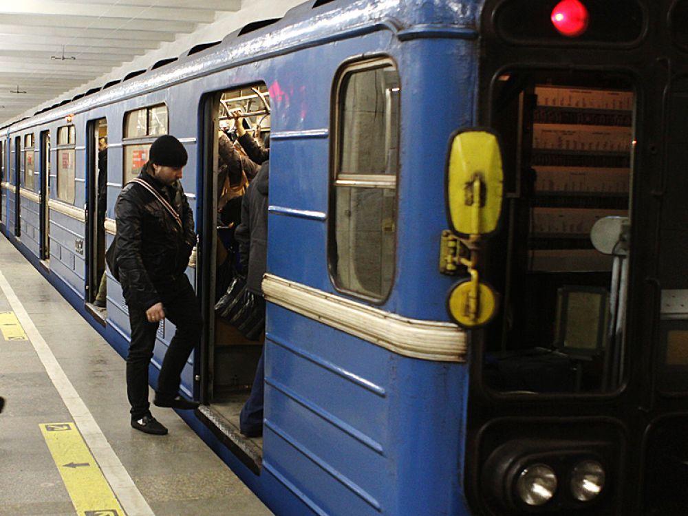 Станция «Красный проспект». Новосибирск.