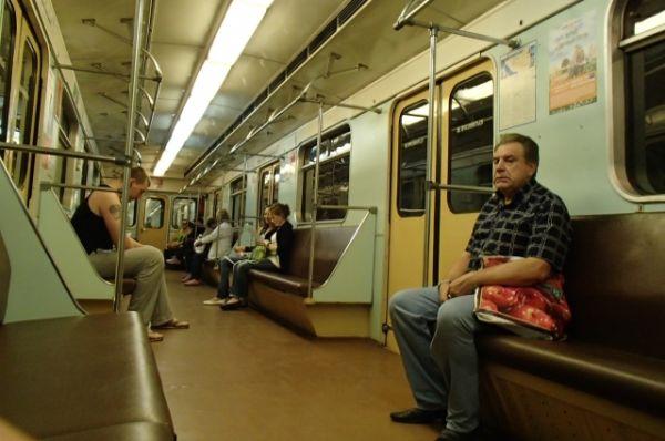 Вагон метро в Самаре