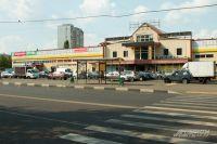 Торговый центр «Бирюза» после погрома быстро восстановили.