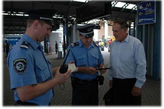 Милиция проводит антитеррористические мероприятия