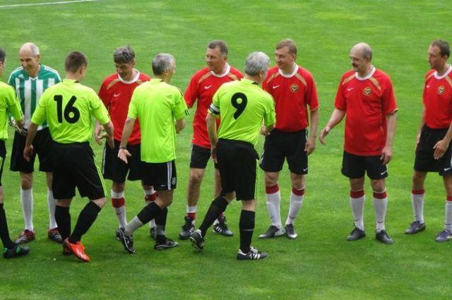 Ветераны футбола
