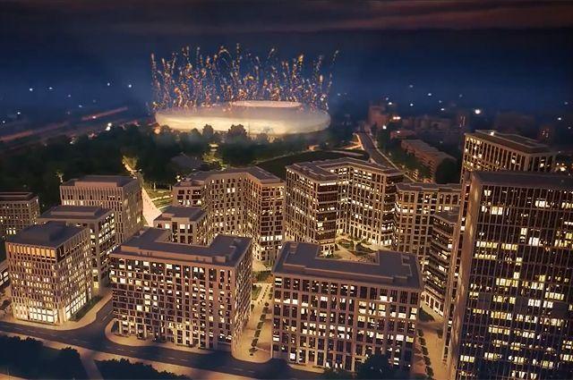 Проект реконструкции стадиона  «Динамо» и окрестных территорий.