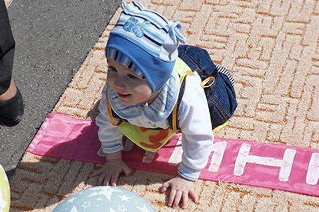 Участниками забега станут малыши от 8 месяцев до 2 лет.