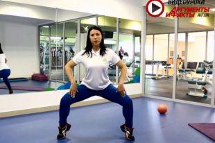 Эффективные упражнения для красивых ног. Ольга Гурженко фитнес-тренер