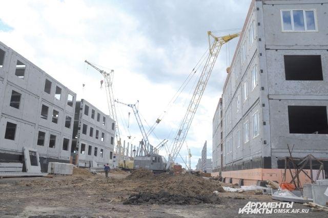 Строительство домов будет завершено в 2015 году.