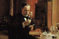 Портрет Луи Пастера, выполненный Альбертом Эдельфельтом. 1885 год.