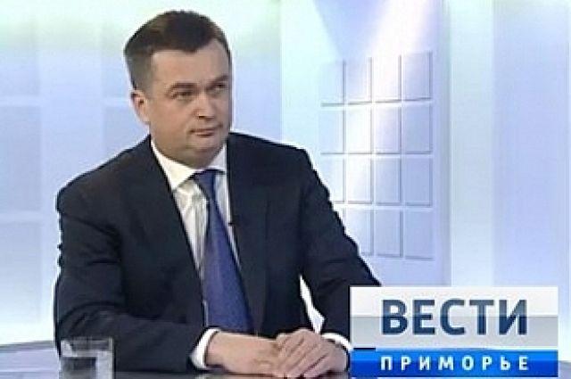 Телеинтервью с главой Приморского края.