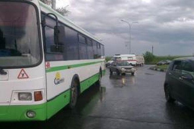 Авария произошла на 227 км трассы.