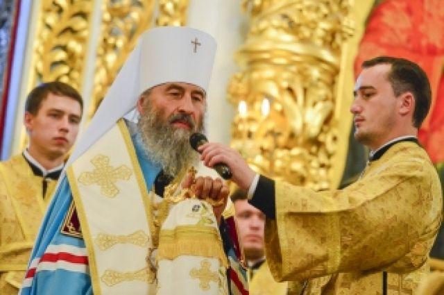 Интронизация нового главы УПЦ