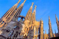 Храм Святого Семейства в Барселоне.