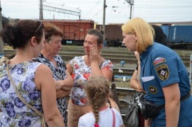 Очередная партия вынужденных переселенцев прибыла в Пышму и Среднеуральск