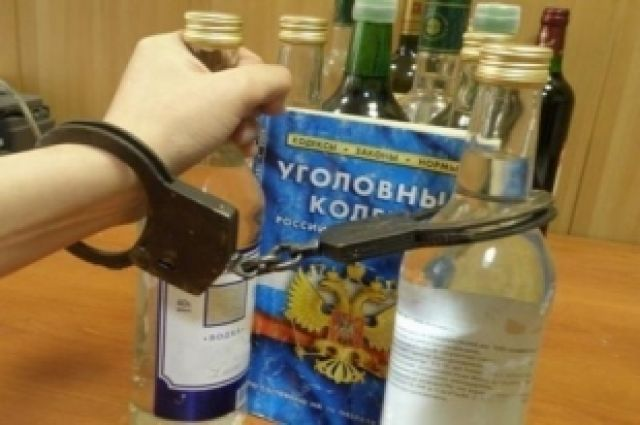 Торговля контрафактным алкоголем - нарушение закона.