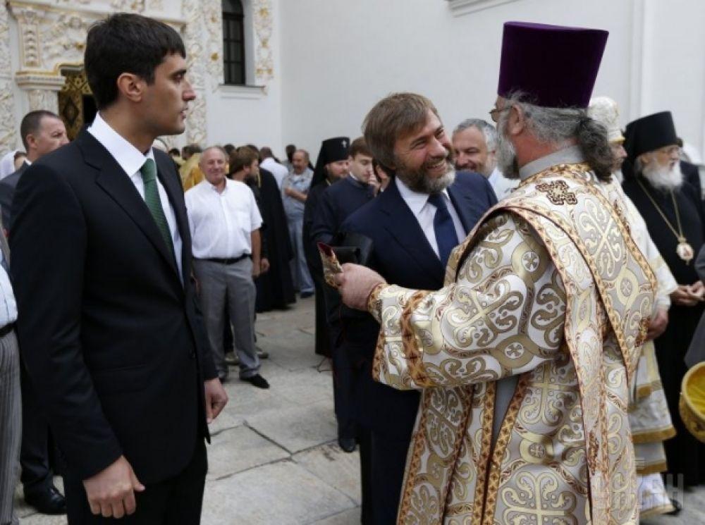Церемония интронизации митрополита Онуфрия