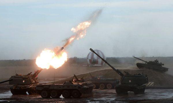 Впечатляющим получился показ вооружения и военной техники во время демонстрационной программы.