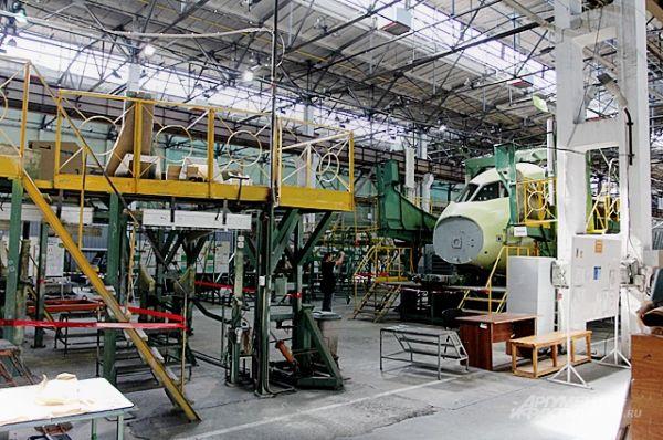 Один из цехов завода.