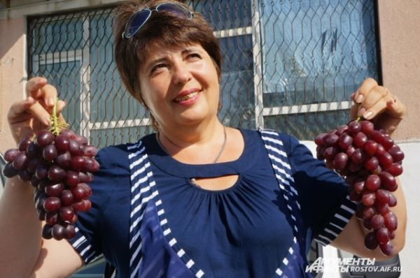 Кубанский виноградарь Ирина Фурса.