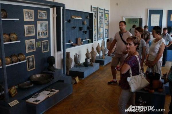 Посещение музея истории виноградарства ВНИИВиВ.
