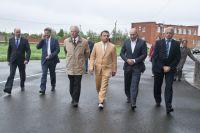 Вячеслав Синюгин побывал на калачинском «Омском беконе», элеваторе и молочном комбинате.