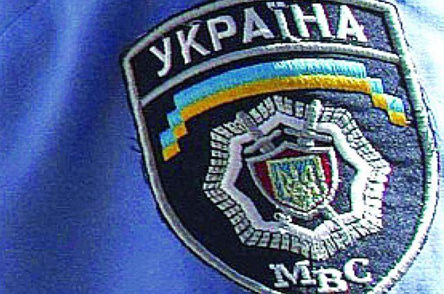 Шеврон МВД Украины