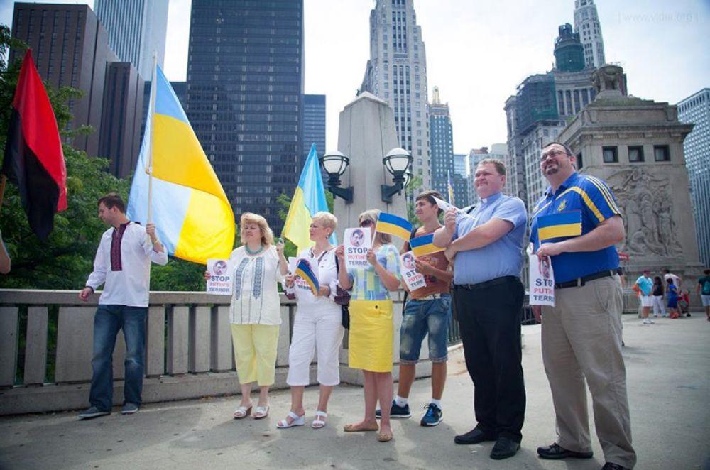 Украинцы в США провели Марши единства
