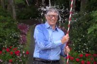 Билл Гейтс принял участие в флешмобе.