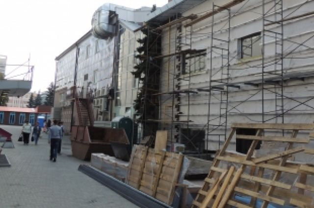 В Челябинске при строительстве новых зданий губят многолетние деревья