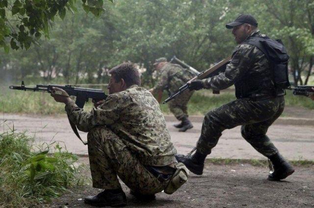 Экстремистские группировки на Донбассе