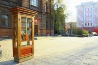 Книжный шкаф для буккроссинга. В Новосибирске его роль сыграет холодильник.