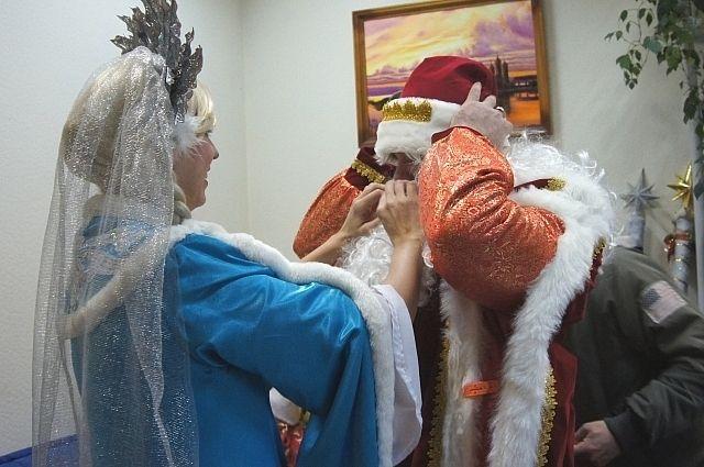 Во что будет наряжаться приморский Дед Мороз?
