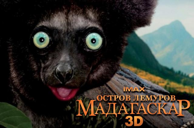 СИНЕМА ПАРК в Челябинске представит фильм IMAX «Остров Лемуров: Мадагаскар»
