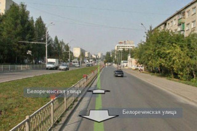 Движение по улице Белореченской закрыто до конца августа