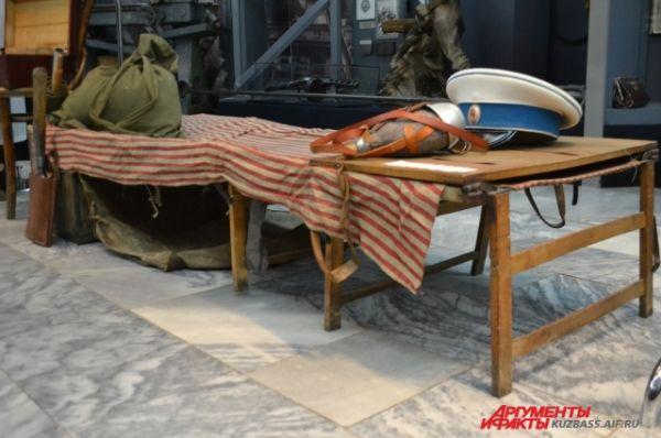 Походная раскладная кровать русского офицера.
