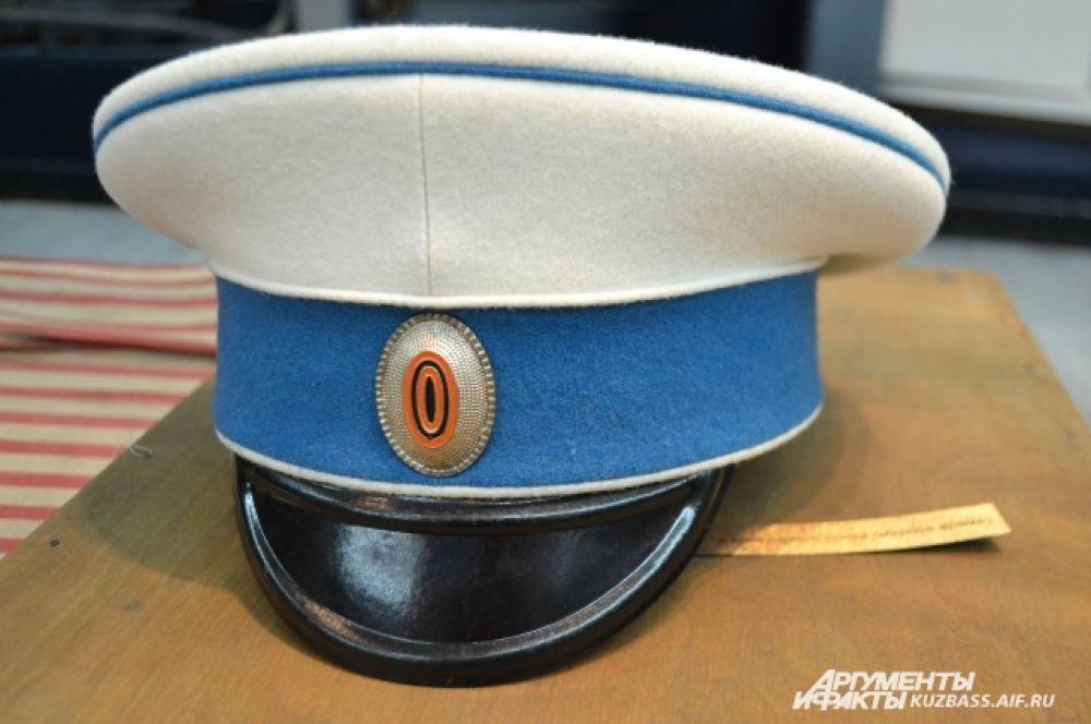 Фуражка вахмистра 12 драгунского полка.